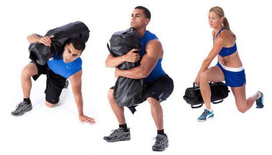 كيس رمل تمارين رياضية